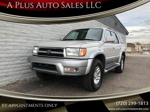 A Plus Auto >> A Plus Auto Sales Llc Used Cars Denver Co Dealer