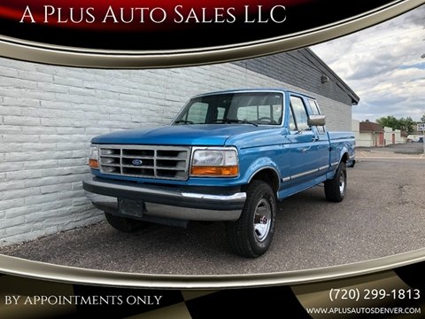 1992 Ford F-150 for sale in Denver, CO