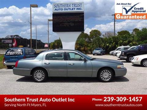 2005 Lincoln Town Car for sale in North Fort Myers, FL