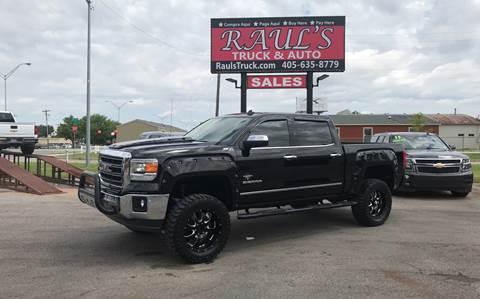Trucks For Sale In Okc >> Gmc Used Cars Pickup Trucks For Sale Oklahoma City Raul S Truck