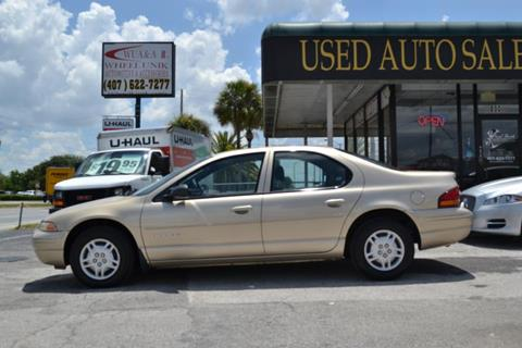 1999 Dodge Stratus for sale at WHEEL UNIK AUTOMOTIVE & ACCESSORIES INC in Orlando FL