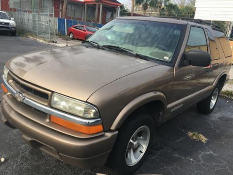 2002 Chevrolet Blazer For Sale