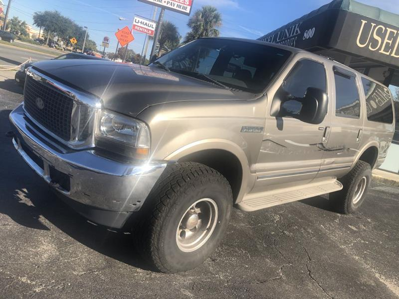 2002 Ford Excursion for sale at WHEEL UNIK AUTOMOTIVE & ACCESSORIES INC in Orlando FL
