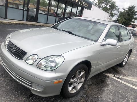 2004 Lexus GS 300 for sale at WHEEL UNIK AUTOMOTIVE & ACCESSORIES INC in Orlando FL