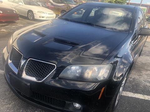 2008 Pontiac G8 for sale at WHEEL UNIK AUTOMOTIVE & ACCESSORIES INC in Orlando FL