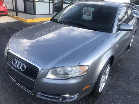 2007 Audi A4 for sale at WHEEL UNIK AUTOMOTIVE & ACCESSORIES INC in Orlando FL