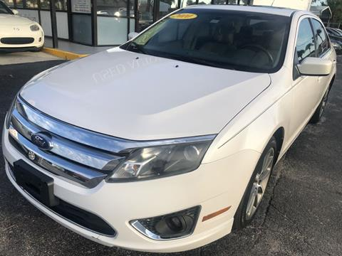 2010 Ford Fusion for sale at WHEEL UNIK AUTOMOTIVE & ACCESSORIES INC in Orlando FL