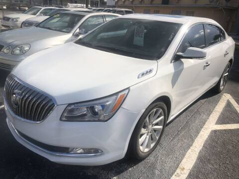 2016 Buick LaCrosse for sale at WHEEL UNIK AUTOMOTIVE & ACCESSORIES INC in Orlando FL