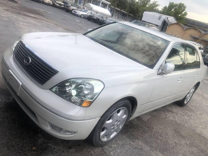2003 Lexus LS 430 for sale at WHEEL UNIK AUTOMOTIVE & ACCESSORIES INC in Orlando FL