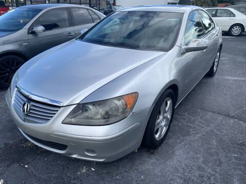 2005 Acura RL for sale at WHEEL UNIK AUTOMOTIVE & ACCESSORIES INC in Orlando FL