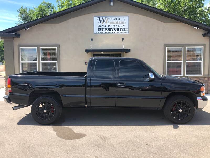 2000 Gmc Sierra 1500 3dr Slt 4wd Extended Cab Lb In Nampa Id
