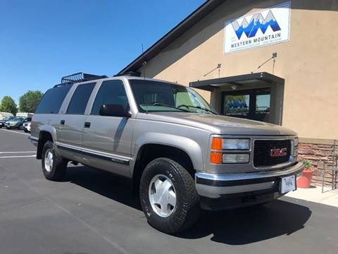 1999 GMC Suburban for sale in Nampa, ID