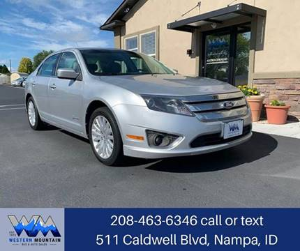 2011 Ford Fusion Hybrid for sale in Nampa, ID