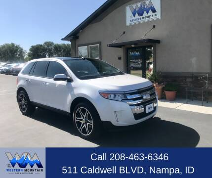 2011 Ford Edge for sale at Western Mountain Bus & Auto Sales in Nampa ID