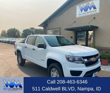 2016 Chevrolet Colorado for sale at Western Mountain Bus & Auto Sales in Nampa ID