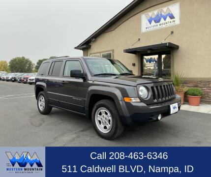 2016 Jeep Patriot for sale at Western Mountain Bus & Auto Sales in Nampa ID