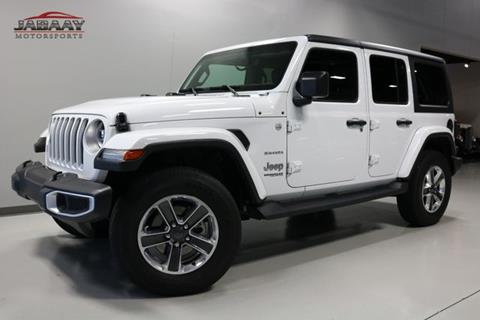 2018 Jeep Wrangler Unlimited for sale in Merrillville, IN