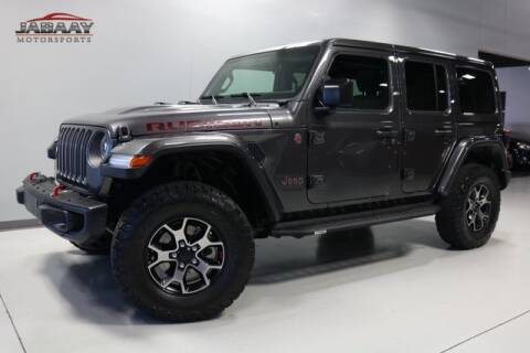 2018 Jeep Wrangler Unlimited Rubicon for sale at JABAAY MOTORS in Merrillville IN