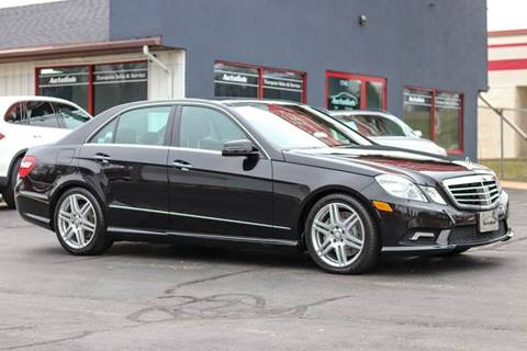 2010 Mercedes-Benz E-Class for sale at AutoLink in Dubuque IA
