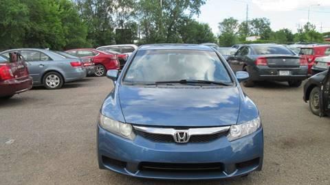 2010 Honda Civic for sale at Salama Cars / Blue Tech Motors in South Saint Paul MN
