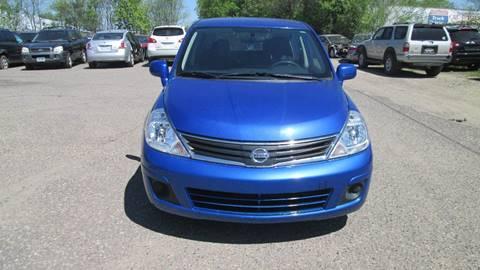 2011 Nissan Versa for sale at Salama Cars / Blue Tech Motors in South Saint Paul MN