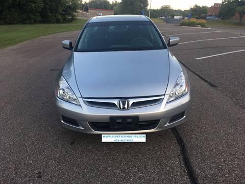2007 Honda Accord for sale at Salama Cars / Blue Tech Motors in South Saint Paul MN