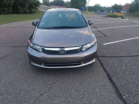 2012 Honda Civic for sale at Salama Cars / Blue Tech Motors in South Saint Paul MN