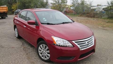 2013 Nissan Sentra for sale at Salama Cars / Blue Tech Motors in South Saint Paul MN