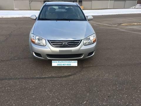 2008 Kia Spectra for sale at Salama Cars / Blue Tech Motors in South Saint Paul MN