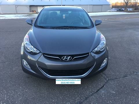 2012 Hyundai Elantra for sale at Salama Cars / Blue Tech Motors in South Saint Paul MN