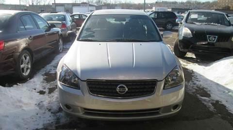2005 Nissan Altima for sale at Salama Cars / Blue Tech Motors in South Saint Paul MN