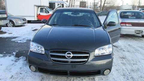 2002 Nissan Maxima for sale at Salama Cars / Blue Tech Motors in South Saint Paul MN
