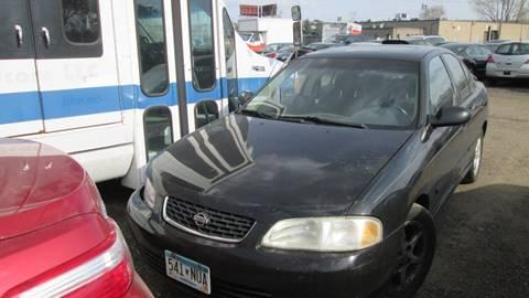 2001 Nissan Sentra for sale at Salama Cars / Blue Tech Motors in South Saint Paul MN