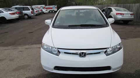 2007 Honda Civic for sale at Salama Cars / Blue Tech Motors in South Saint Paul MN
