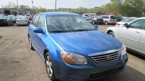 2007 Kia Spectra for sale at Salama Cars / Blue Tech Motors in South Saint Paul MN