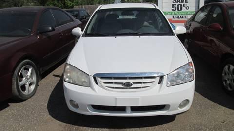 2005 Kia Spectra for sale at Salama Cars / Blue Tech Motors in South Saint Paul MN