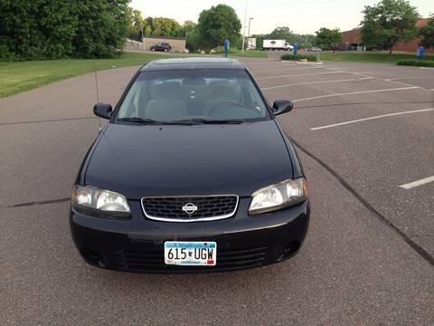 2002 Nissan Sentra for sale at Salama Cars / Blue Tech Motors in South Saint Paul MN