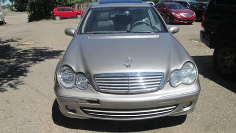 2006 Mercedes-Benz C-Class for sale at Salama Cars / Blue Tech Motors in South Saint Paul MN
