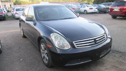 2006 Infiniti G35 for sale at Salama Cars / Blue Tech Motors in South Saint Paul MN