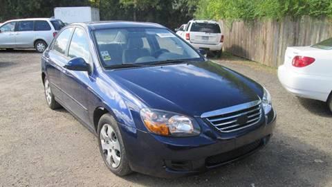 2009 Kia Spectra for sale at Salama Cars / Blue Tech Motors in South Saint Paul MN