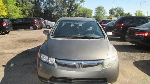 2008 Honda Civic for sale at Salama Cars / Blue Tech Motors in South Saint Paul MN