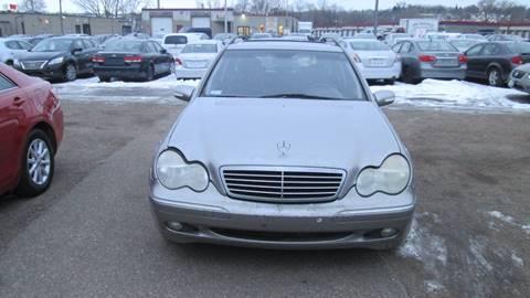 2003 Mercedes-Benz C-Class for sale at Salama Cars / Blue Tech Motors in South Saint Paul MN