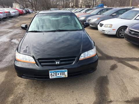 2001 Honda Accord for sale at Salama Cars / Blue Tech Motors in South Saint Paul MN