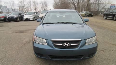 2008 Hyundai Sonata for sale at Salama Cars / Blue Tech Motors in South Saint Paul MN