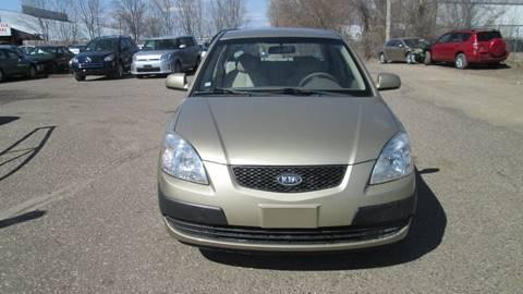 2009 Kia Rio for sale at Salama Cars / Blue Tech Motors in South Saint Paul MN