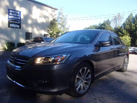 2013 Honda Accord for sale in Cumming, GA
