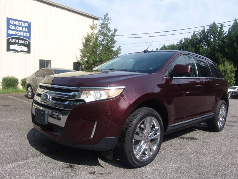 2011 ford edge limited 4dr crossover in cumming ga united global rh unitedglobalimports net 2015 Ford Edge Sport 2011 Ford Edge Sport Silver