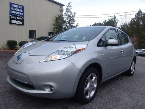 2012 Nissan LEAF for sale in Cumming, GA