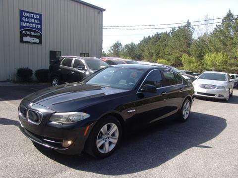 2012 BMW 5 Series for sale in Cumming, GA