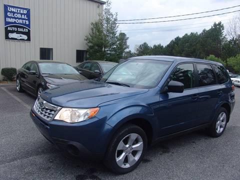2012 Subaru Forester for sale in Cumming, GA